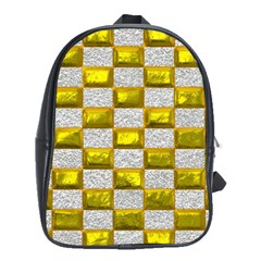 Pattern Desktop Square Wallpaper School Bag (xl)