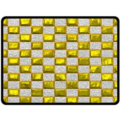 Pattern Desktop Square Wallpaper Double Sided Fleece Blanket (large)