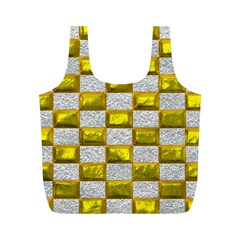 Pattern Desktop Square Wallpaper Full Print Recycle Bags (m)