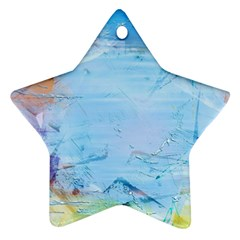 Background Art Abstract Watercolor Ornament (star)