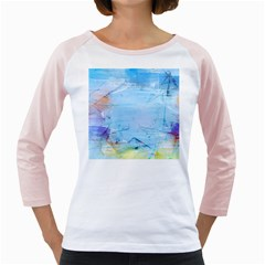 Background Art Abstract Watercolor Girly Raglans
