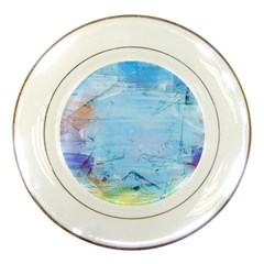 Background Art Abstract Watercolor Porcelain Plates