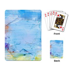 Background Art Abstract Watercolor Playing Card