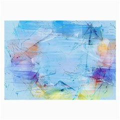 Background Art Abstract Watercolor Large Glasses Cloth