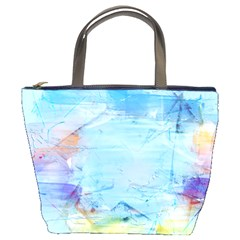 Background Art Abstract Watercolor Bucket Bags by Nexatart