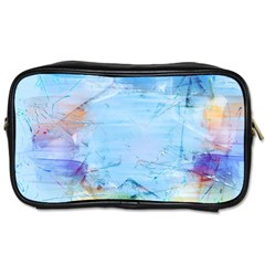 Background Art Abstract Watercolor Toiletries Bags 2 Side