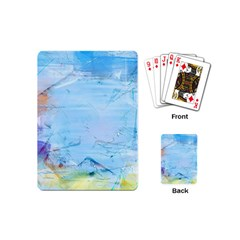 Background Art Abstract Watercolor Playing Cards (mini)