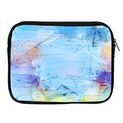 Background Art Abstract Watercolor Apple Ipad 2/3/4 Zipper Cases by Nexatart