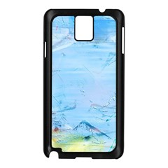 Background Art Abstract Watercolor Samsung Galaxy Note 3 N9005 Case (black)