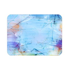 Background Art Abstract Watercolor Double Sided Flano Blanket (mini)