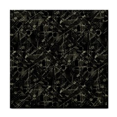 Abstract Collage Patchwork Pattern Tile Coasters by dflcprints