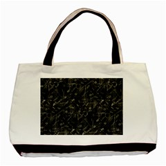 Abstract Collage Patchwork Pattern Basic Tote Bag (two Sides) by dflcprints