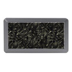 Abstract Collage Patchwork Pattern Memory Card Reader (mini) by dflcprints