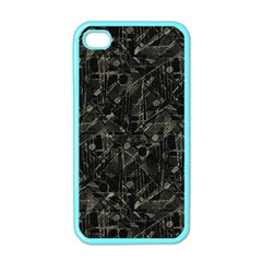 Abstract Collage Patchwork Pattern Apple Iphone 4 Case (color) by dflcprints
