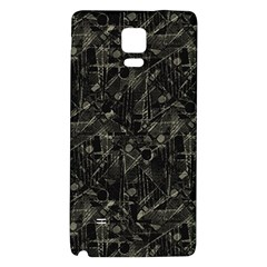 Abstract Collage Patchwork Pattern Galaxy Note 4 Back Case by dflcprints