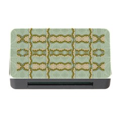 Celtic Wood Knots In Decorative Gold Memory Card Reader With Cf by pepitasart