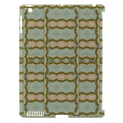Celtic Wood Knots In Decorative Gold Apple Ipad 3/4 Hardshell Case (compatible With Smart Cover) by pepitasart