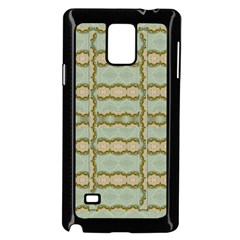 Celtic Wood Knots In Decorative Gold Samsung Galaxy Note 4 Case (black)