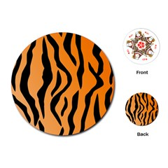 Tiger Fur 2424 100p Playing Cards (round)  by SimplyColor