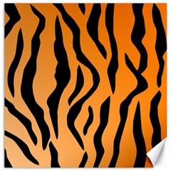 Tiger Fur 2424 100p Canvas 12  X 12   by SimplyColor