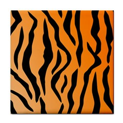 Tiger Fur 2424 100p Face Towel by SimplyColor