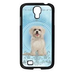 Cute Little Havanese Puppy Samsung Galaxy S4 I9500/ I9505 Case (black) by FantasyWorld7