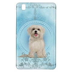 Cute Little Havanese Puppy Samsung Galaxy Tab Pro 8 4 Hardshell Case by FantasyWorld7