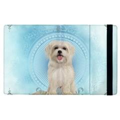 Cute Little Havanese Puppy Apple Ipad Pro 12 9   Flip Case by FantasyWorld7