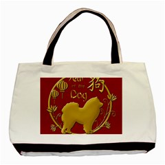Year Of The Dog   Chinese New Year Basic Tote Bag (two Sides) by Valentinaart