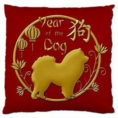 Year Of The Dog   Chinese New Year Standard Flano Cushion Case (one Side) by Valentinaart