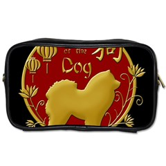 Year Of The Dog   Chinese New Year Toiletries Bags 2 Side by Valentinaart