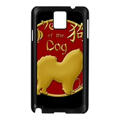 Year Of The Dog   Chinese New Year Samsung Galaxy Note 3 N9005 Case (black) by Valentinaart