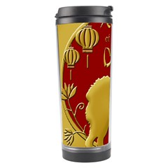 Year Of The Dog   Chinese New Year Travel Tumbler by Valentinaart
