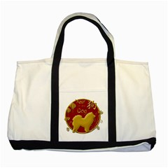 Year Of The Dog   Chinese New Year Two Tone Tote Bag by Valentinaart