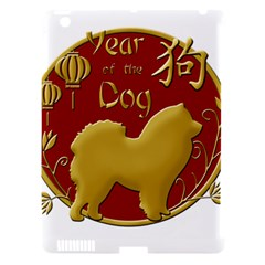 Year Of The Dog   Chinese New Year Apple Ipad 3/4 Hardshell Case (compatible With Smart Cover) by Valentinaart