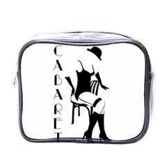 Cabaret Mini Toiletries Bags by Valentinaart