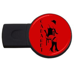 Cabaret Usb Flash Drive Round (4 Gb) by Valentinaart