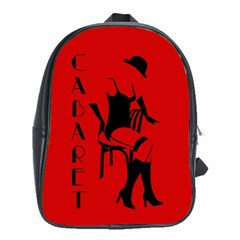 Cabaret School Bag (xl) by Valentinaart