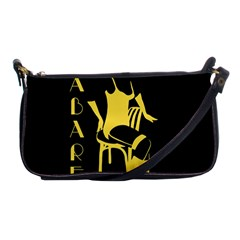 Cabaret Shoulder Clutch Bags by Valentinaart