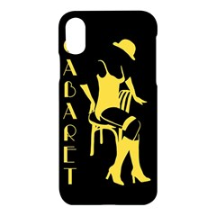 Cabaret Apple Iphone X Hardshell Case by Valentinaart