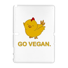 Go Vegan   Cute Chick  Galaxy Note 1 by Valentinaart