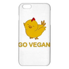 Go Vegan   Cute Chick  Iphone 6 Plus/6s Plus Tpu Case by Valentinaart