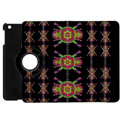 Paradise Flowers In A Decorative Jungle Apple Ipad Mini Flip 360 Case by pepitasart