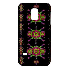 Paradise Flowers In A Decorative Jungle Galaxy S5 Mini by pepitasart