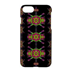 Paradise Flowers In A Decorative Jungle Apple Iphone 7 Hardshell Case by pepitasart