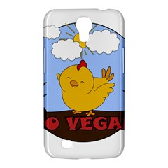 Go Vegan   Cute Chick  Samsung Galaxy Mega 6 3  I9200 Hardshell Case by Valentinaart