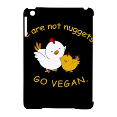 Go Vegan   Cute Chick  Apple Ipad Mini Hardshell Case (compatible With Smart Cover) by Valentinaart