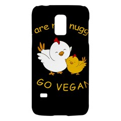 Go Vegan   Cute Chick  Galaxy S5 Mini by Valentinaart