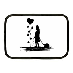 Sowing Love Concept Illustration Small Netbook Case (medium)  by dflcprints