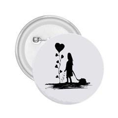 Sowing Love Concept Illustration Small 2 25  Buttons by dflcprints